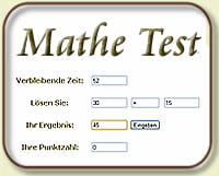 Mathe Tests
